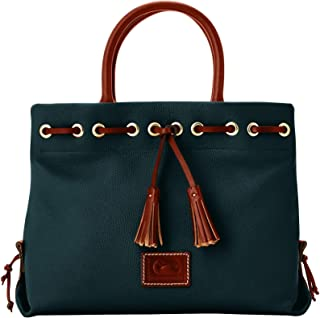 Wakefield Tassel Tote Leather Crossbody Bag Purse Handbag