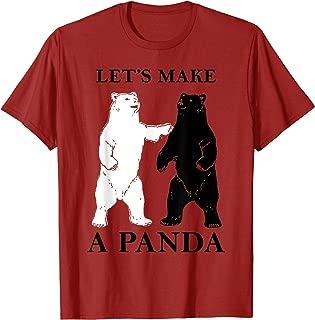 T-shirt Let's make a Panda