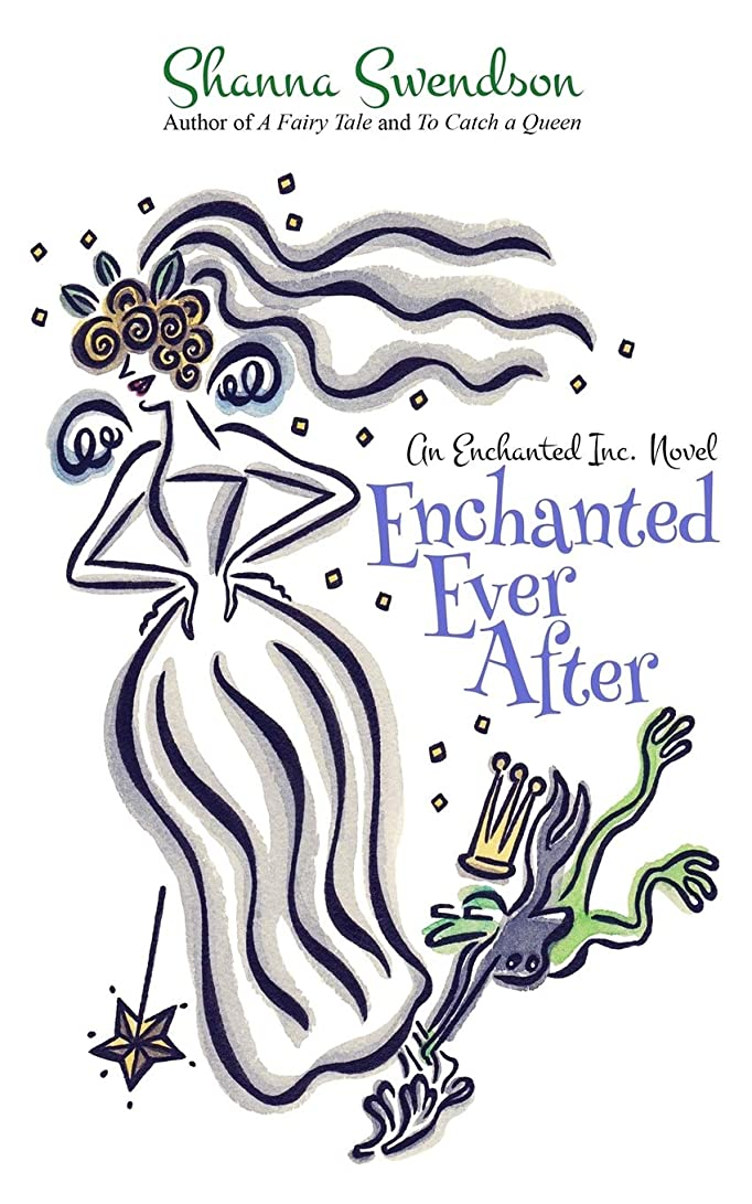 緩やかな四分円ラケットEnchanted Ever After (Enchanted, Inc.)