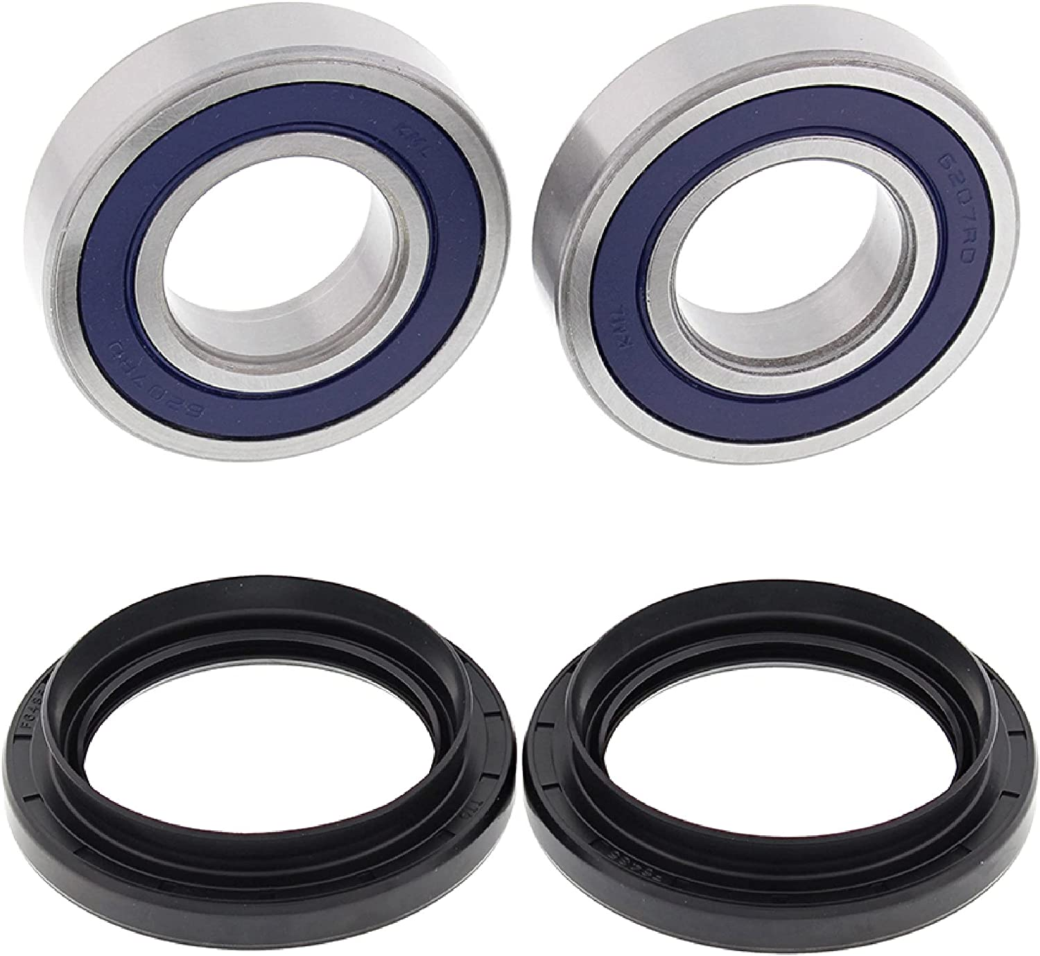 New All Balls Same day shipping Wheel Bearing Milwaukee Mall Replacement Compatible with for Kit