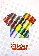 Siser Heat Transfer Vinyl Color Guide