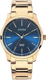 ساعة انالوج بمينا زرقاء من الستانلس ستيل للرجال من سيتيزن - BH5003-51L