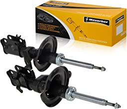 Maxorber Front Left Right Shocks Struts Absorber Compatible with Acura RSX and Type S Models 2002 2003 2004 Shock Absorber Replacement for Acura RSX 02 03 04 Shock Set 331601 331602 51606S6MA56 72238