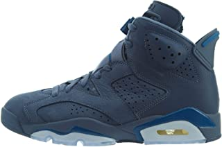 Nike air Jordan 6 Retro Mens hi top Basketball Trainers 384664 Sneakers Shoes (UK 7.5 US 8.5 EU 42, diffused Blue 400)
