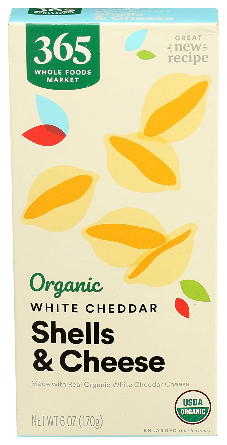 365 by Whole Foods Market Macaroni Fashionable And Cheddar 2021 White Cheese She