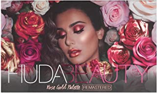 Huda Beauty Rose Gold Eyeshadow Palette (18 shades in 1 kit) with mirror