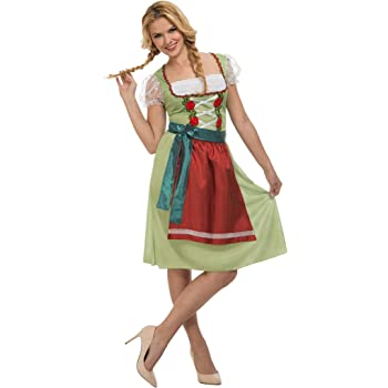 amscan Oktoberfest Wench - Disfraz de Mujer bávara: Amazon.es ...