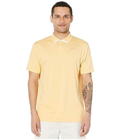 Nike Golf Dry Vapor Polo Solid (Celestial Gold/White/Celestial Gold) Men