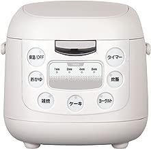 多機能 炊飯器 5機能搭載(炊飯、お粥、雑炊、ヨーグルト、ケーキ) d000