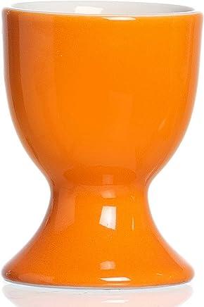 Preisvergleich für Ritzenhoff & Breker Doppio Eierbecher, Ei Becher, Eierhalter, Geschirr, Porzellan, Orange, 5 cm, 515688