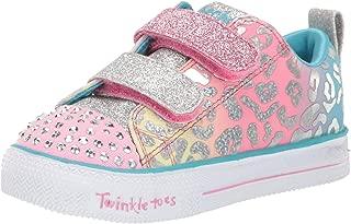 Skechers Kids' Shuffle Lite-Leopard Cutie Sneaker