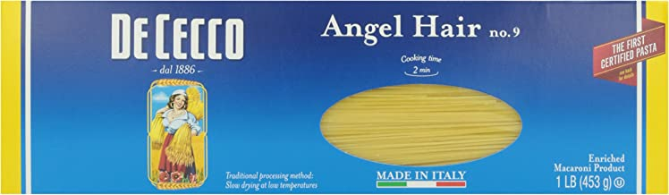 De Cecco Pasta Angel Hair No. 9, 16 oz