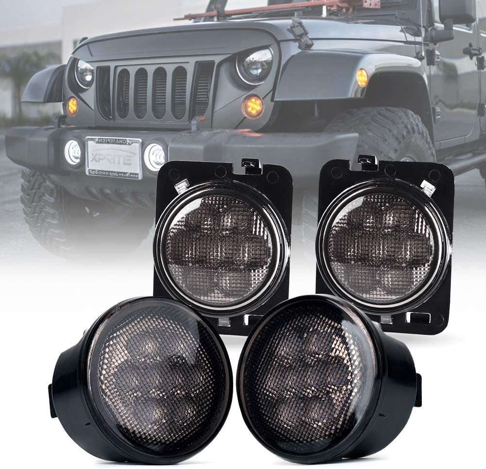 Austin Mall Xprite Max 90% OFF LED Smoke Lens Turn Parking Signal Lights Function with
