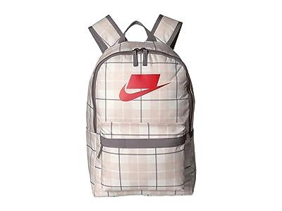Nike Heritage All Over Print Backpack 2.0 (Phantom/Gunsmoke/University Red) Backpack Bags