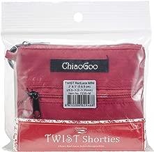 ChiaoGoo TWIST Shorties Red Lace Interchangeable Knitting Set