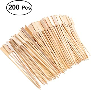 100/unidades de 30/cm, bamb/ú Barbacoa Carne pinchos Brochetas de verduras Brochetas de bamb/ú LHS