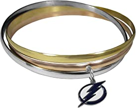 Siskiyou NHL unisex-adult Tri-color Bangle Bracelet