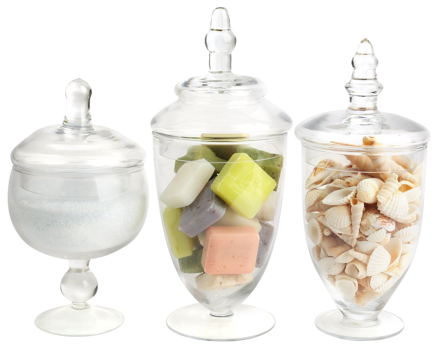 candy glass amazon com rh amazon com cheap glass containers for candy buffet