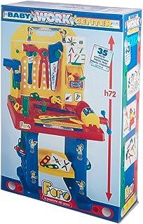 فارو ادوات نجارة للاطفال متعدد الالوان مجموعة من 35