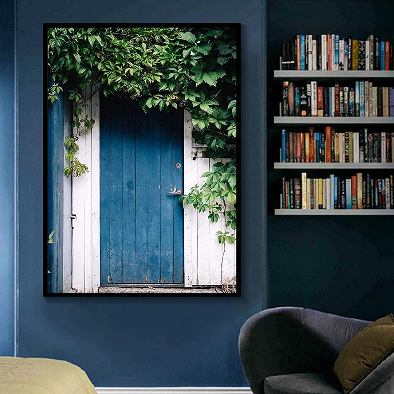 CXArtprint HD Printing Fresh Green Leaves Oklahoma City Mall F Wall Ranking TOP16 Bridge Door Art