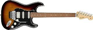 Fender Player Stratocaster Electric HSS Guitar - Floyd Rose - Pau Ferro Fingerboard - 3 Color Sunburst