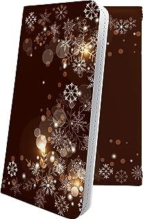 Xperia Z SO-02E ケース 手帳型 雪の結晶 雪 冬 癒し いやし 結晶 ハート love kiss キス 唇 エクスペリア 手帳型ケース デザイン イラスト SO02E XperiaZ 女の子 女子 女性 レディース