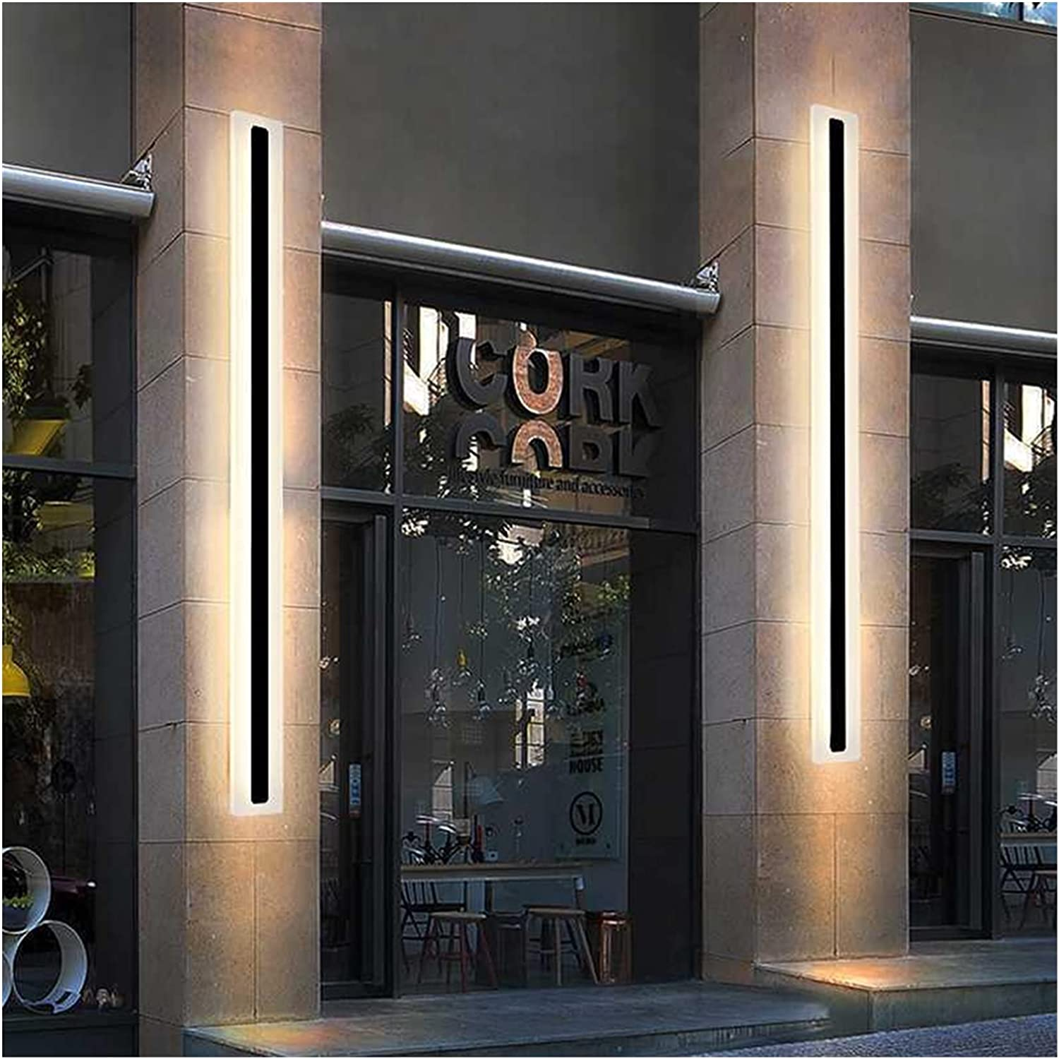 LAANYMEI Wall lamp Modern Waterproof Long Outdoor Strip 5 ☆ Popular products very popular LED