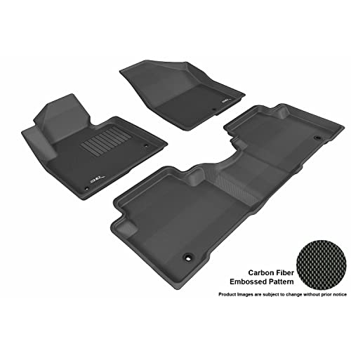 3D MAXpider L1HY01701509 Complete Set Custom Fit All-Weather Floor Mat for Select Hyundai Santa