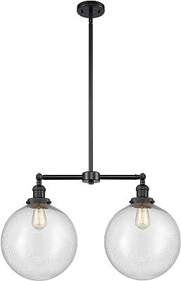 Innovations Lighting 209-BK-G204-12-LED Bare Bulb 1 Light Cord Set, Matte Black