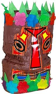 SKYLANTERN Pinata Tiki 40cm - Pinata Traditionnelle Mexicaine pour Anniversaire Enfant - Kit Anniversaire Jouet Enfant Idé...