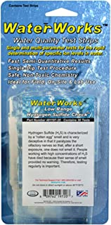 Industrial Test Systems WaterWorks 481197-20 Hydrogen Sulfide Test Strip, Low Range, 1 Minute and 20 Second Test Time, 0-2ppm Range (Pack of 30)