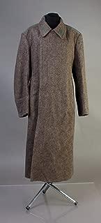 soviet overcoat military greatcoat Vintage USSR Surplus Uniform wool Soldier Winter long Coat L 50-4