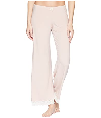 Eberjey Lady Godiva PJ Pant (Pink Clay/Off-White) Women