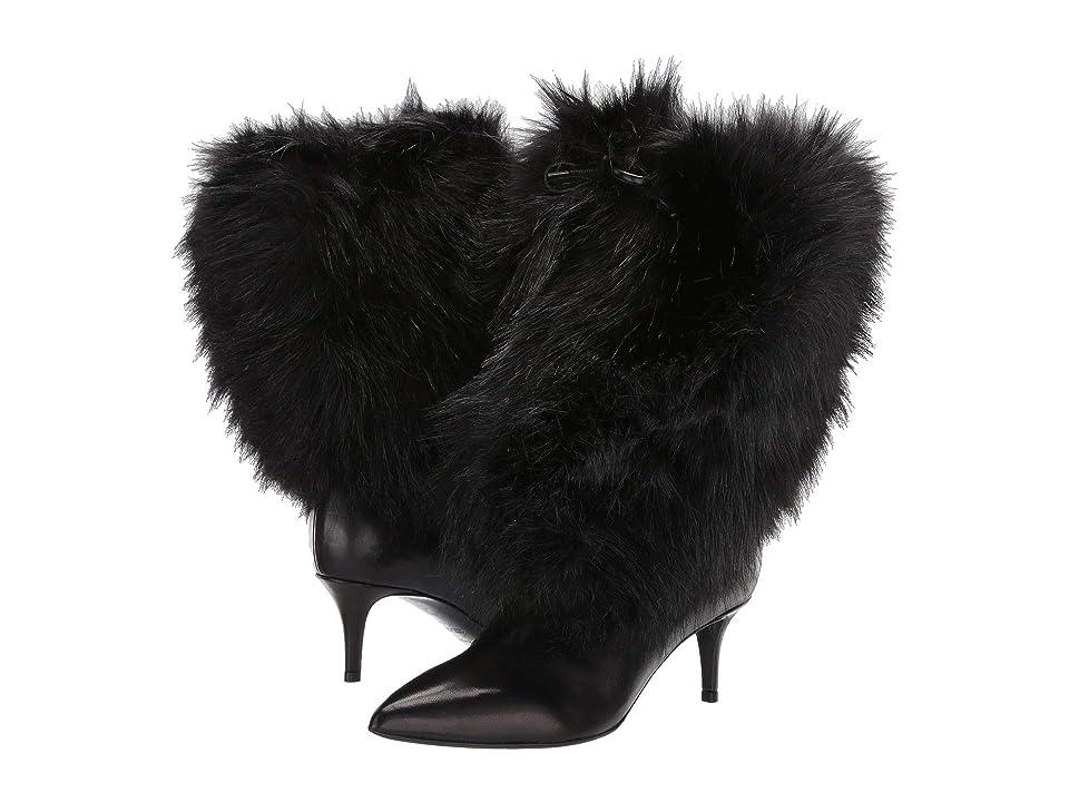 Emporio Armani Eco Fur Boot (Black) Women