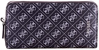 Luxury Fashion | Guess Mens SM2642LEA58BLACK Black Wallet | Fall Winter 19