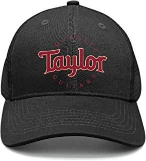 M.STRA Unisex Baseball Hat for Mens Womens Fitted Taylor-Guitars-Logo- Caps
