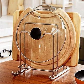Porte-ustensiles étagères Multi-fonctions de cuisine Planche à découper Support de rangement Creative Anti-rouille égoutto...