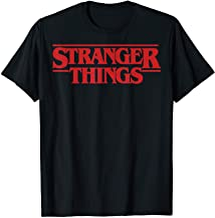 Netflix Stranger Things Simple Red Logo T-Shirt