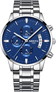 Dress Watch For Men Analog Stainless Steel -