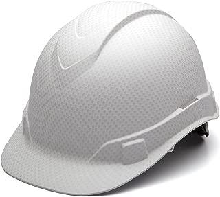 Pyramex HP44116 Ridgeline Matte White Graphite Cap Style Hard Hat
