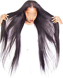 Straight Human Hair Weave Bundle 1/3/4 Pcs Non Hair Extension Natural Black Can Be Dyed Bleached Mshere Hair,14 16 18 18