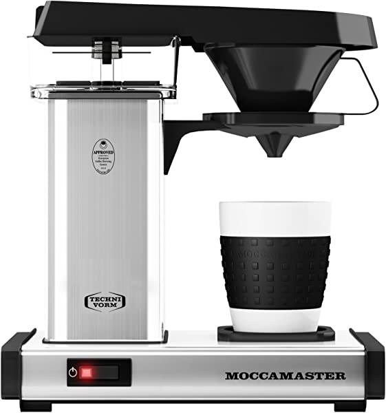 Technivorm Moccamaster 69212 Coffee Brewer 10 Oz Polished Silver