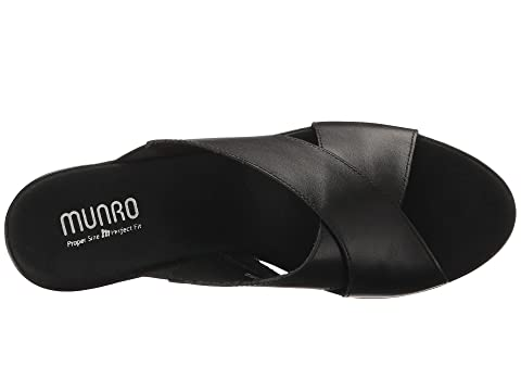 De Cuero Yuma Super Munro Leathertan Negro Especiales Leatherwhite 6wYEqX