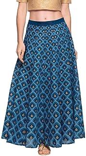 global desi Rayon a-line Skirt