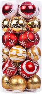 Best christmas tree decorating red and gold Reviews