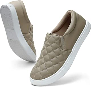 Loafers for Women Memory Foam Slip On Sneakers Comfort Fall Shoes
