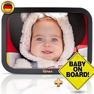 Kinderleichte Montage FILFIA Autospiegel Baby gro/ß R/ücksitzspiegel zur Beobachtung Ihres Babys im Auto