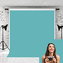 Kate 5x7ft Lake Green Photography Backdrop Solid Color Collapsible Background for Photographer Photo Studio Props
