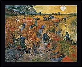 The Red Vineyard at Arles, 1888 by Vincent Van Gogh 14