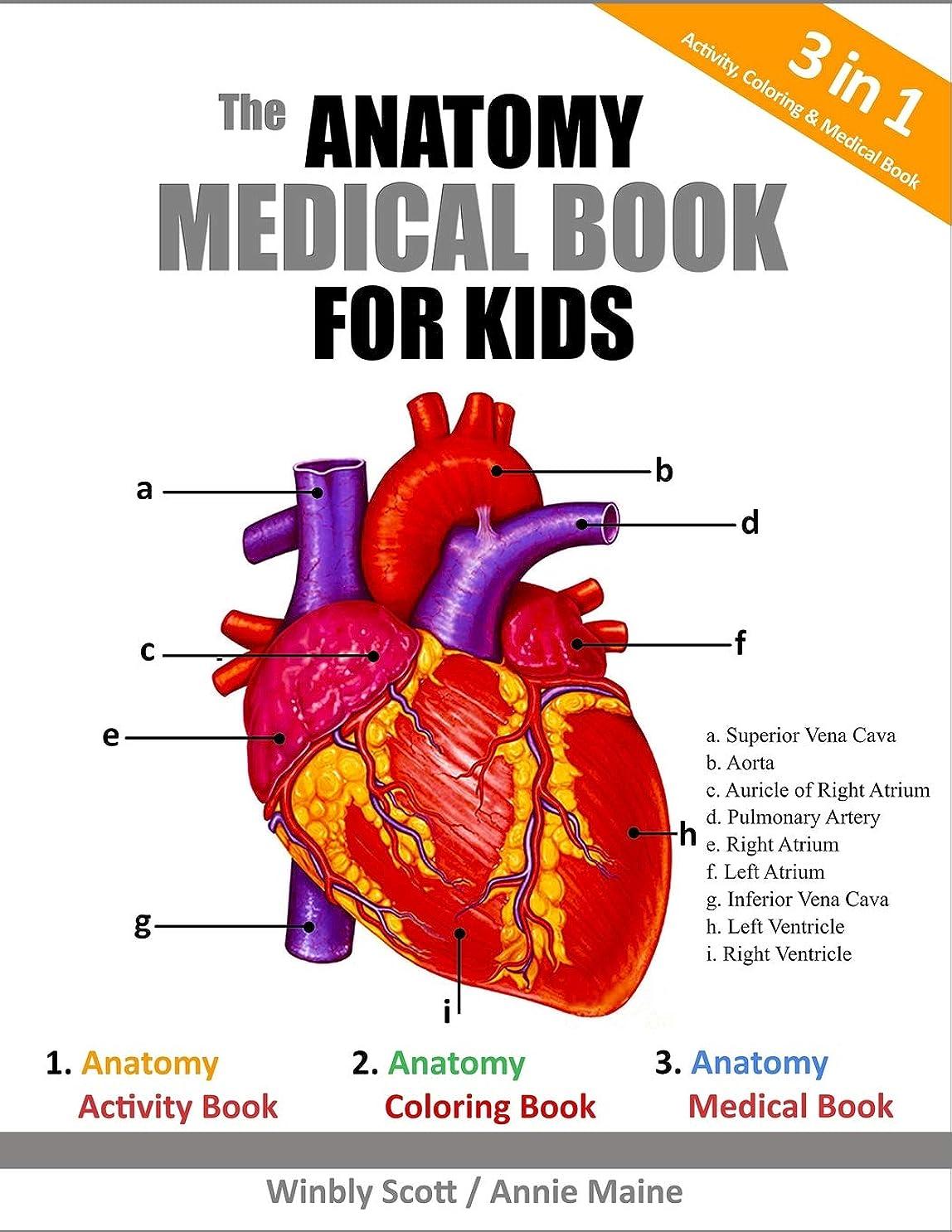 先見の明俳句うそつきThe Anatomy Medical Book For Kids: A Coloring, Activity & Medical Book For Kids